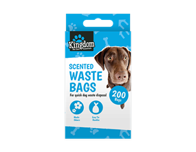 Scented Dog Poo Bags - 200 Pack
