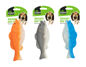 Wholesale Squeaky Fish Dog Toys | Gem Imports Ltd