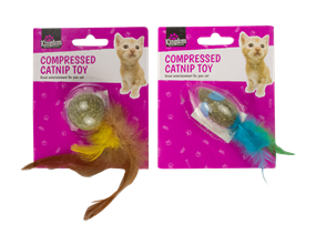 Wholesale Compressed Catnip Cat Toys | Gem Imports Ltd