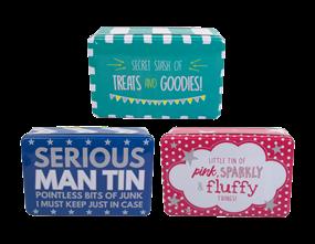 Wholesale Printed Novelty Tins | Gem Imports Ltd