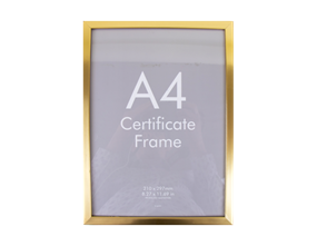 A4 Document Frame