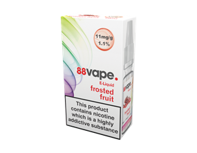 Wholesale 88 Vape Frosted Fruit E-liquid | Gem Imports