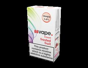 Wholesale 88 Vape Frosted Fruit E-liquid | Gem Imports