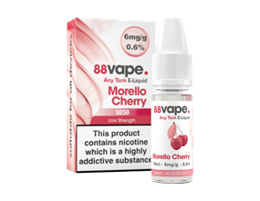 Wholesale 88 Vape Any Tank Morello Cherry E-liquid | Gem Imports