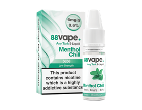 Wholesale 88 Vape Any Tank Menthol Chill E-liquid | Gem Imports