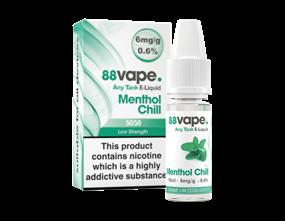Wholesale 88 Vape Any Tank Menthol Chill E-liquid | Gem Imports