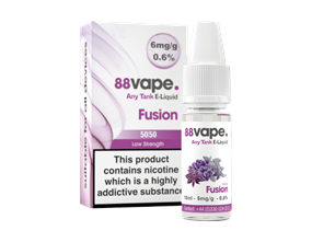 Wholesale 88 Vape Fusion E-liquid | Gem Imports