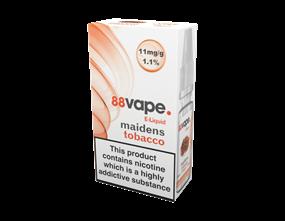 Wholesale 88 Vape Maidens Tobacco E-liquid | Gem Imports