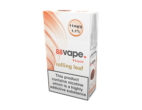 Wholesale 88 Vape Rolling Leaf E-liquid | Gem Imports
