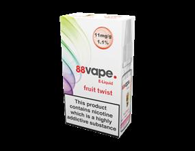 Wholesale 88 Vape Fruit Twist E-liquid | Gem Imports