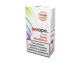 Wholesale 88 Vape Fresh Blueberry E-liquid | Gem Imports