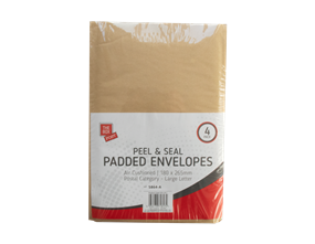 Small Padded Envelopes 18cm x 26.5cm - 45 Pack