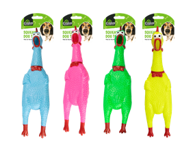 Wholesale Squeaky Chicken Dog Toys   Gem Imports Ltd