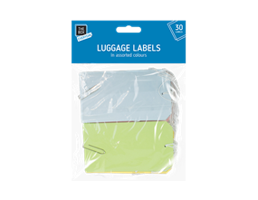 Luggage Labels - 30 Pack