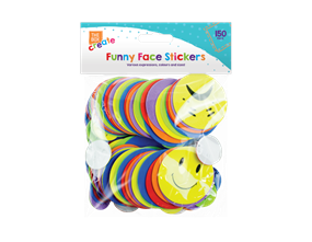 Wholesale Funny Expressions Foam Stickers | Gem Imports Ltd