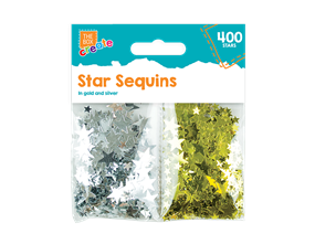 Wholesale Metallic Star Sequins | Gem Imports Ltd