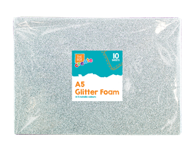 Wholesale A5 Glittered Foam Sheets | Gem Imports Ltd