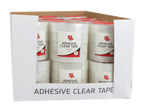 Clear Adhesive Tape - 4 Pack