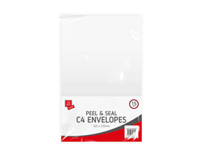 Wholesale White C4 Peel & Seal Envelopes | Gem Imports Ltd