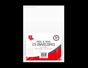Wholesale White C5 Peel & Seal Envelopes | Gem Imports Ltd