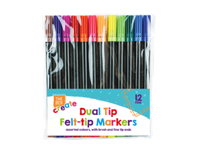 Wholesale Dual Tip Felt Pens | Gem Imports Ltd