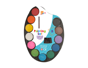 Childrens Painting Set - 14 Piece