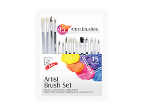Artists Paint Brush Set