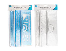 Wholesale Ruler And Stencil Sets | Gem Imports Ltd