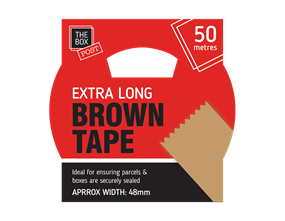Wholesale Extra Long Brown Tape   Gem Imports Ltd