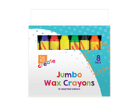 Wholesale Jumbo Wax Crayons | Gem Imports Ltd
