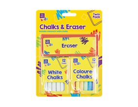 Wholesale Chalk & Eraser Sets | Gem Imports Ltd
