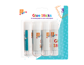 Glue Sticks 15g - 4 Pack
