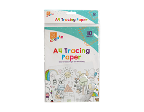 A4 Tracing Paper - 10 Pack