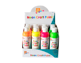 Neon Finger Paint - 200ml