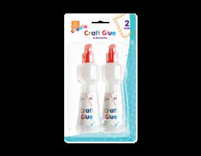 Craft Glue 80ml - 2 Pack