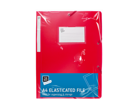 A4 Elasticated File