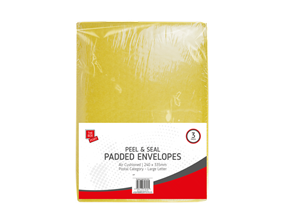 Medium Padded Envelopes 24cm x 33.5cm - 3 Pack