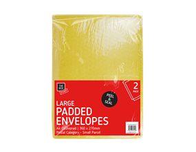 Large Padded Envelopes 27cm x 36cm - 2 Pack