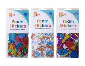 Wholesale Foam Craft Stickers | Gem Imports Ltd