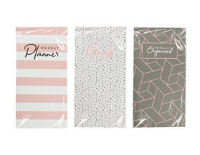 Wholesale Weekly Planner Notebooks | Gem Imports Ltd