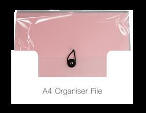 Wholesale A4 Organiser Files | Gem Imports Ltd