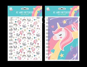 Wholesale Kids A5 Rainbow Notebooks | Gem Imports Ltd