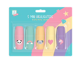 Wholesale Kids Rainbow Mini Highlighters | Gem Imports Ltd