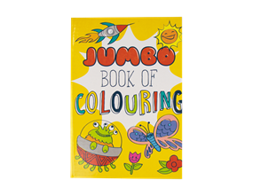 Wholesale Super Jumbo Colouring Books | Gem Imports Ltd