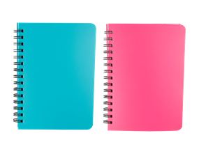 Wholesale A5 Wiro Notebook With Plastic Cover | Gem Imports Ltd