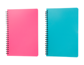 Wholesale A4 Wiro Notebook With Plastic Cover | Gem Imports Ltd