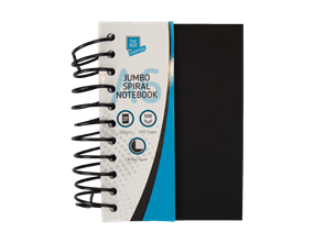 Wholesale A6 Jumbo Spiral Notebooks | Gem Imports Ltd