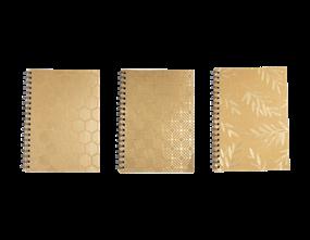 Wholesale Foil Kraft Wiro Notebooks | Gem Imports Ltd