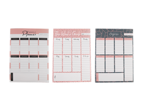 Wholesale Weekly Planner Pads | Gem Imports Ltd