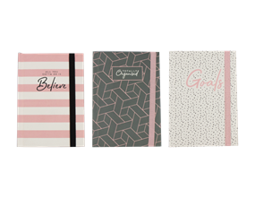 Wholesale A6 Printed Notebook | Gem Imports Ltd
